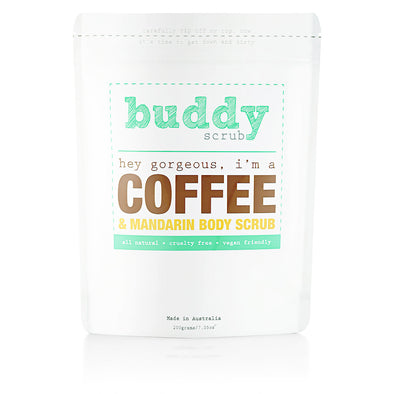 Coffee & Mandarin Body Scrub - 200g