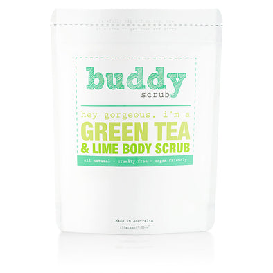 Green Tea & Lime Body Scrub - 200g