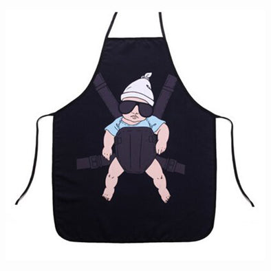 Cartoon Baby Cooking Apron
