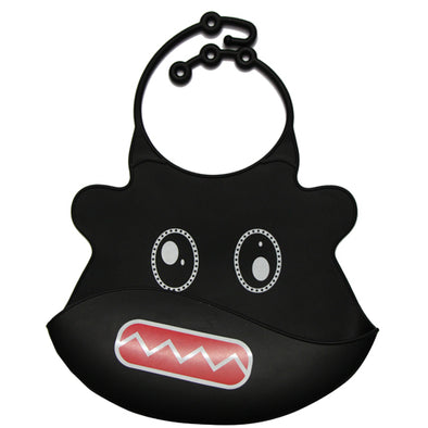 Washable Silicone Baby & Toddler Bibs - Black