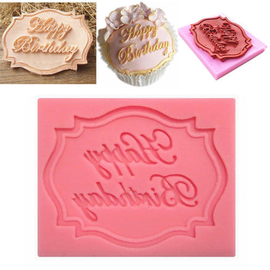 Happy Birthday - Silicone Baking Mould