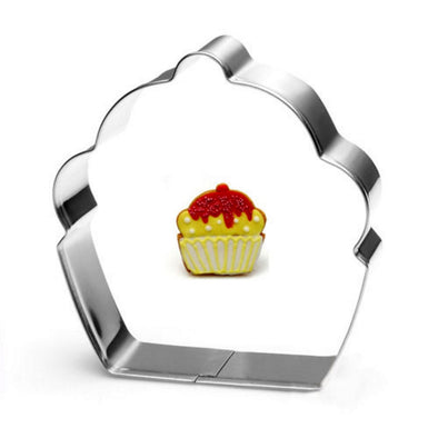 Cake-Shaped Cookie Cutter
