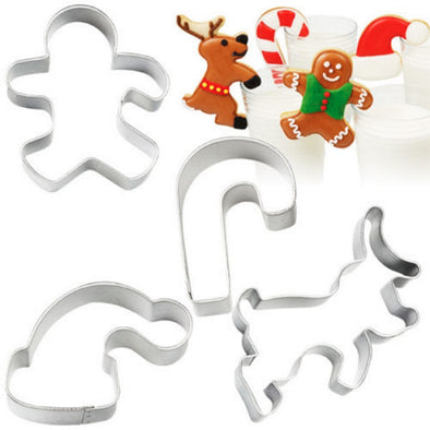 Christmas-Themed Biscuit Cutters