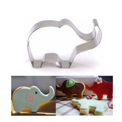 Elephant Design Cookie/Biscuit Mould