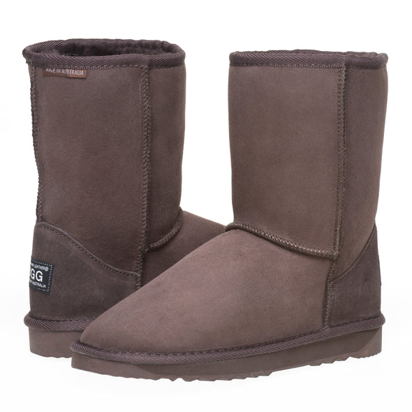 Australian Leather Ugg Boots Classic Short
