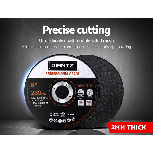 Giantz Cutting Disc 230mm Metal Cut Off Wheel Angle Grinder Thin Steel