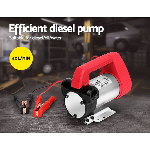 12V Electric Diesel Oil Bio-diesel Transfer Pump