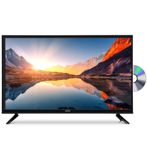 "Devanti LED TV 32 Inch 32"" Digital Built-In DVD Player LCD LG Panel USB HDMI"