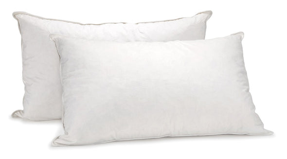 Royal Comfort - Duck Feather And Down Pillows (Twin Pack)