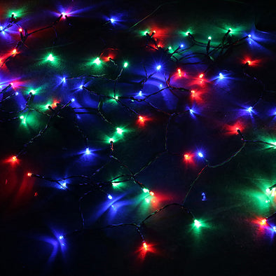 100 Led Solar Fairy Light RGB