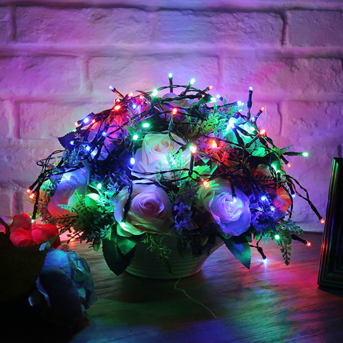 250 Led Solar String Lights RGB