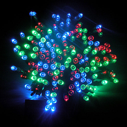 600 LED SOLAR STRING LIGHTS RGB