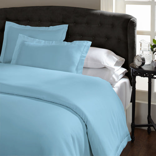 Royal Comfort 1500 Thread count Cotton Rich Quilt cover sets King Indigo