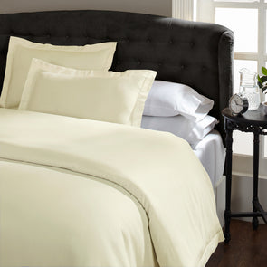 Royal Comfort 1500 Thread count Cotton Blend Quilt cover sets Queen Ivory