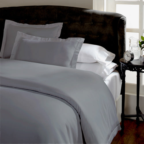 Royal Comfort 1500 Thread count Cotton Blend Quilt cover sets Queen Dusk Grey