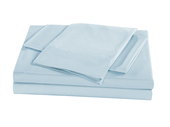 Royal Comfort Bamboo Sheet Set - Queen - Chambray (Powder)