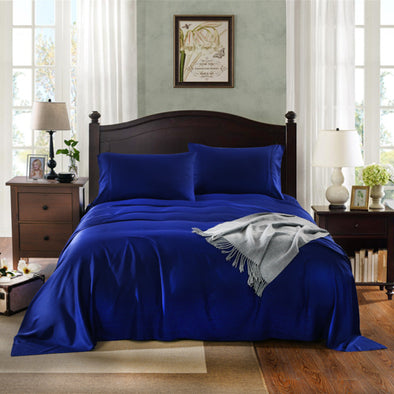 Royal Comfort Bamboo Sheet Set - King - Indigo