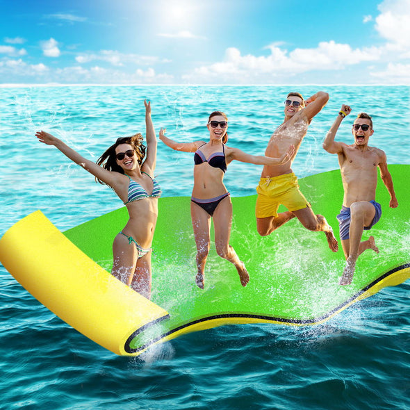 Weisshorn Floating Mat Water Slide Park Stand Up Paddle Pool Sea 365cm