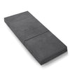 Giselle Bedding Folding Foam Portable Mattress Grey