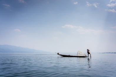 Daily Salt Travel Collection - INLE FISHERMAN