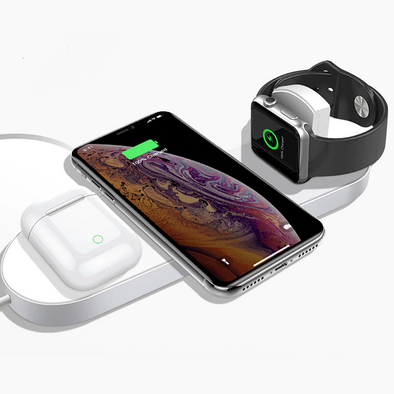 OROTEC Triple Wirless Charging Stand (including for iWatch)