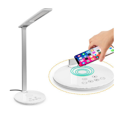 OROTEC LED Desk Lamp with Fast Charge Wireless Charger