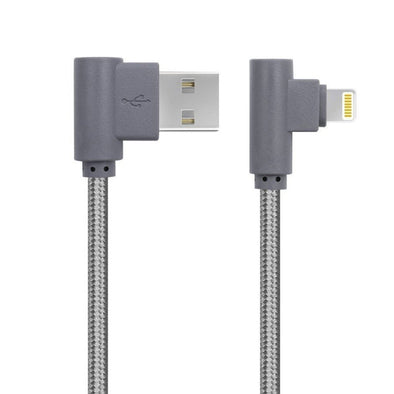 1M Lightning USB Cable for iPhone and iPad - Grey