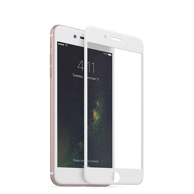 3D Tempered Glass For iPhone 7/8 Plus - White