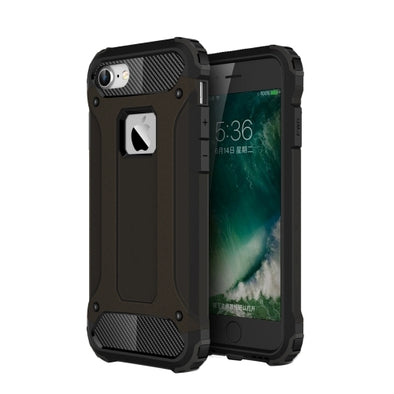Rugged Armour Case for iPhone 7 - Black