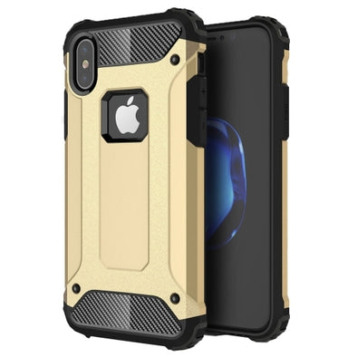 Rugged Armour Case for iPhone 7 - Gold