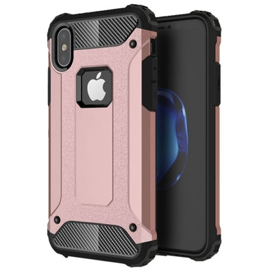Rugged Armour Case for iPhone 7 - Pink