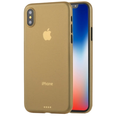 Ultra-Thin Protective Case for iPhone X - Gold