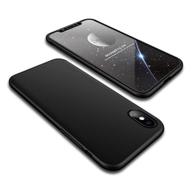 Full Coverage Ultra Slim iPhone X Case - Black