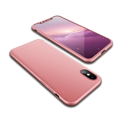 Full Coverage Ultra Slim iPhone X Case - Rose Gold