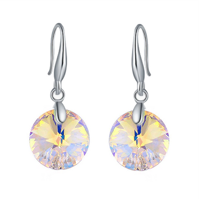 Orobelle Sterling Silver Noosa Sunset Earrings featuring SWAROVSKI ® Crystals