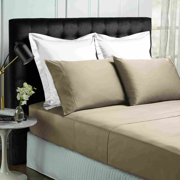 Park Avenue 500 Thread count Cotton Bamboo Sheet sets Queen Pewter