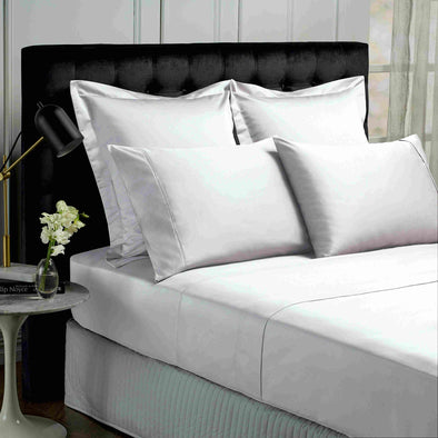 Park Avenue 500 Thread count Cotton Bamboo Sheet sets Queen White