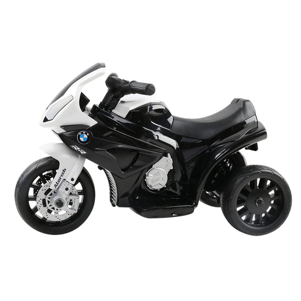 Kids Ride On Motorbike BMW Licensed S1000RR Motorcycle Car Black