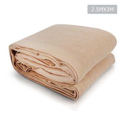 Instahut 2.5 x 3 Shade Sail Cloth - Sand Beige