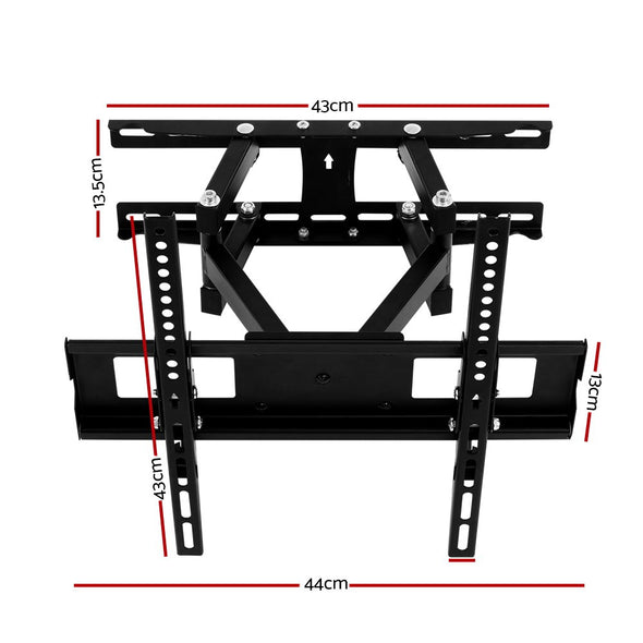 Artiss TV Wall Mount Bracket Tilt Swivel Full Motion Flat Slim LED LCD 23 32 42 50 55 inch