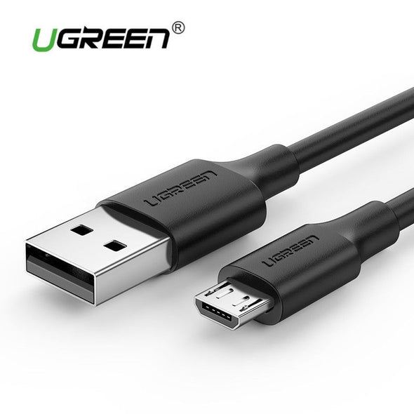 UGREEN USB 2.0 Male to Micro USB Data Cable 0.5M Black (60135)