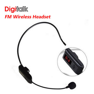 Digitalk FM Wireless Headset FOR F-37B