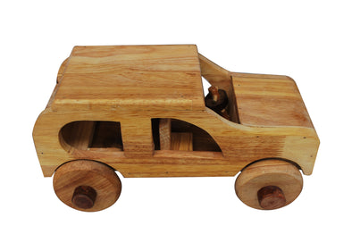 Natural Wooden Car