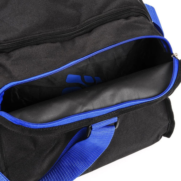 40L Foldable Gym Bag (Black / Blue)