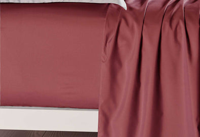 Queen Size Burgundy Color Fitted Sheet