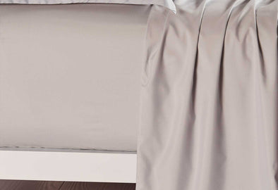 Single Size Linen Color Fitted Sheet