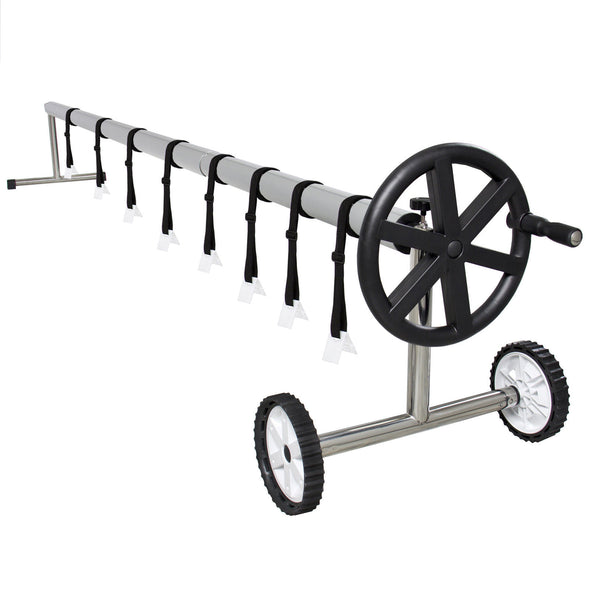 Pool Blanket Roller with Wheels