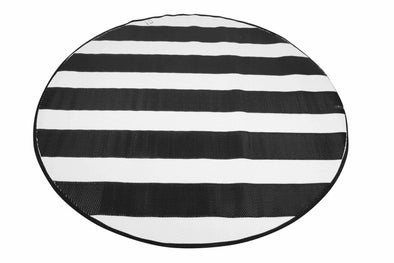 Outdoor Pp Mat Weatherproof Nautical Round Dia. 200cm