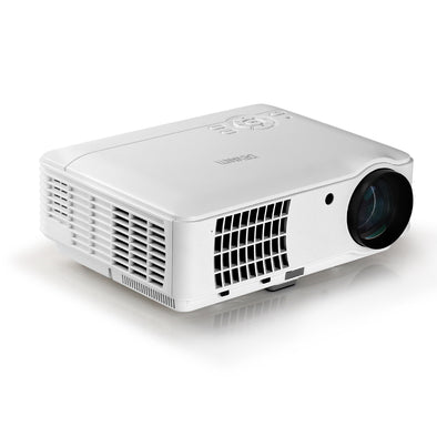 Devanti Mini Video Projector Portable HD 1080P 2500 Lumens Home Theater USB VGA