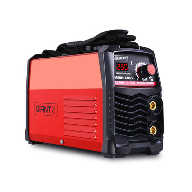 GIANTZ Portable Inverter Welder MMA ARC Stick iGBT DC Welding 10A Plug 250Amp
